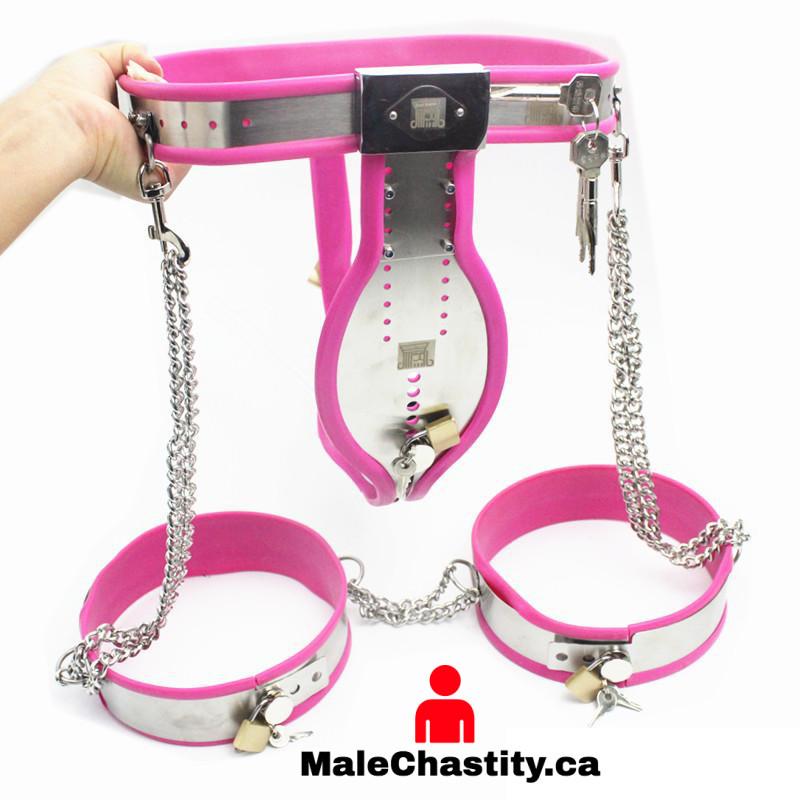 Sissy Slave Chastity Belt - Male Chastity Store